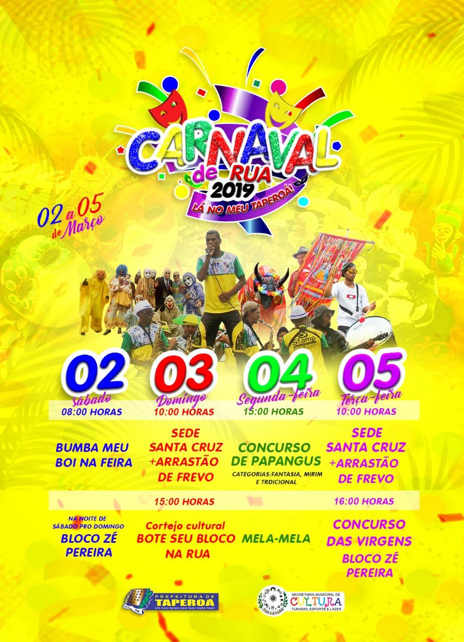 carnaval la no meu taperoa 2019